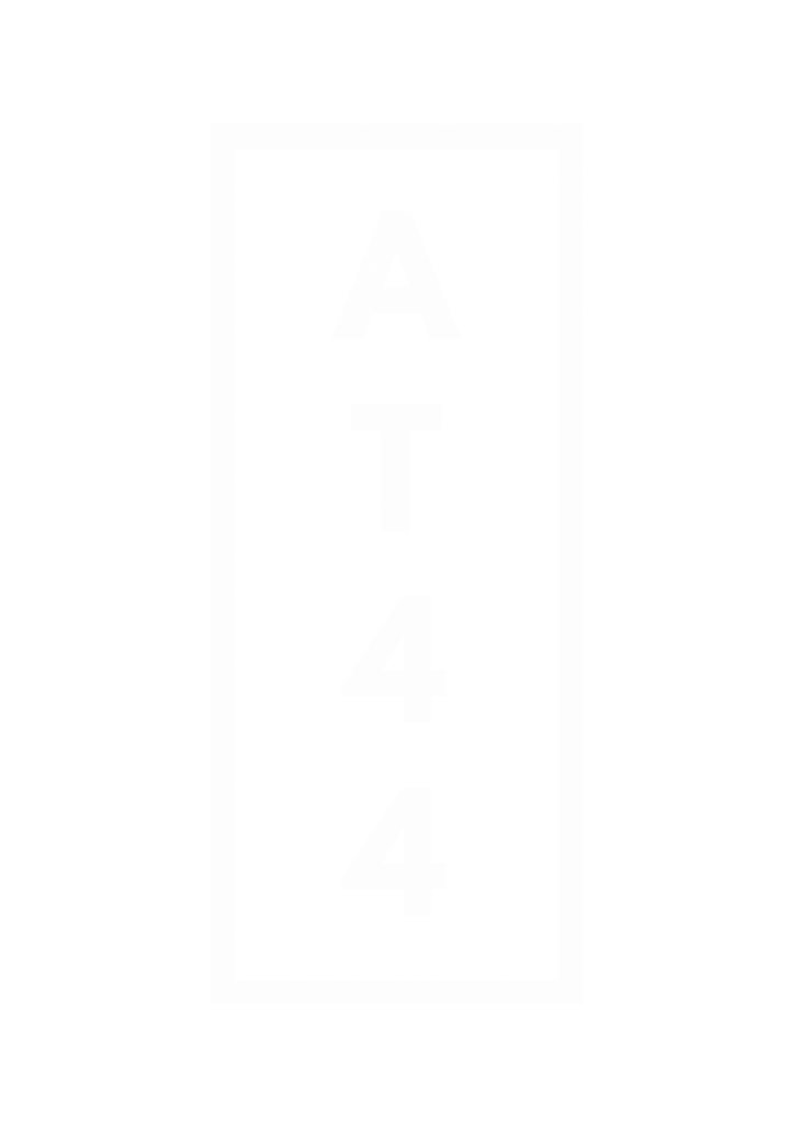Best Black and White Clothing Brand | AT 44 | Logo-6